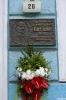 11.05 - Złożenie kwiatów - Tablica Pamiątkowa Carla Teike - Honoring Carl Teike